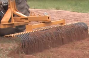 Garden Tractor Rake Attachment - Garden AttachmentsGarden