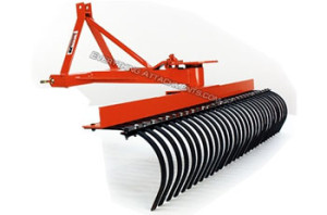 Garden Tractor Rake Attachment - Garden AttachmentsGarden